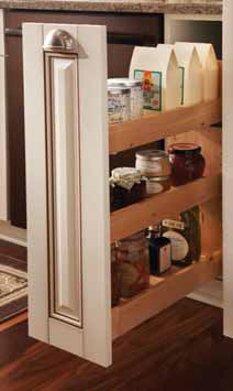 Pull-Out Base Storage