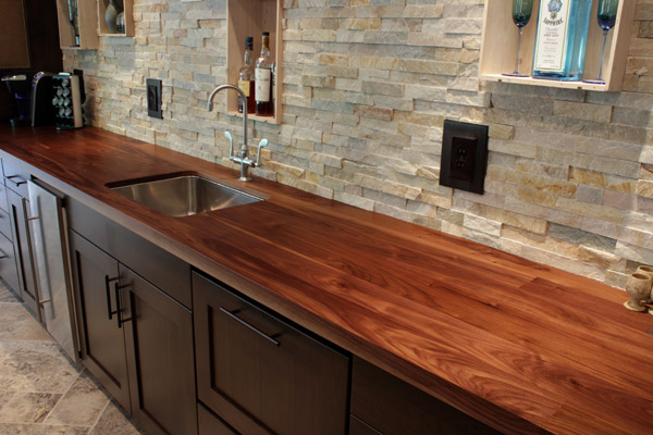 Wood Kitchen Countertop